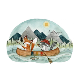 Prints Canoe Adventure 11x14 Print