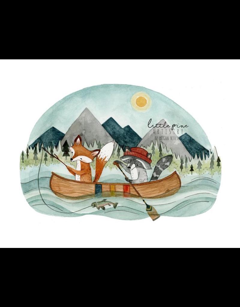 Prints Canoe Adventure 11x14 Print