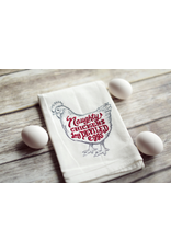 Tea Towels Naughty Devil Chicken Tea Towel