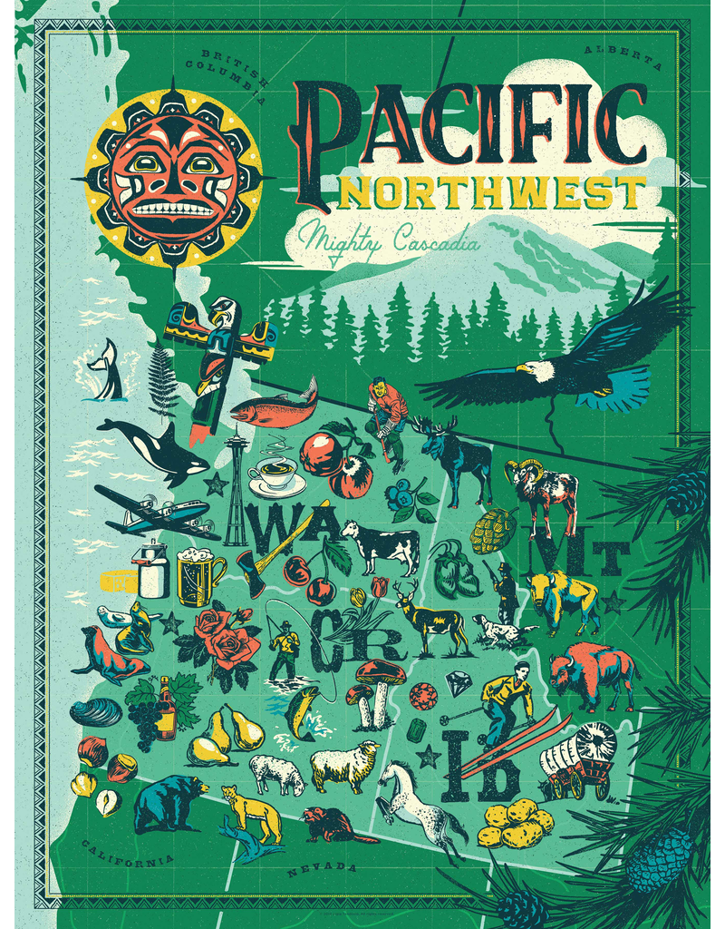 Puzzles Pacific Northwest Puzzle