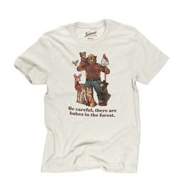 T-Shirts Smokey Babes In The Forest Adult Tee