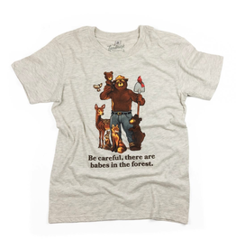 T-Shirts Smokey Babes In The Forest Youth Tee