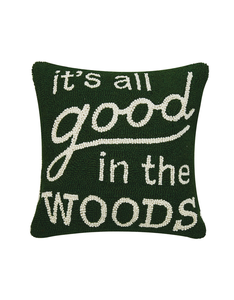 Pillows - Hooked All Good In The Woods Pillow