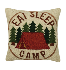 Pillows - Hooked Eat Sleep Camp Pillow