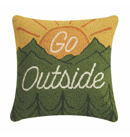 Pillows - Hooked Go Outside Pillow