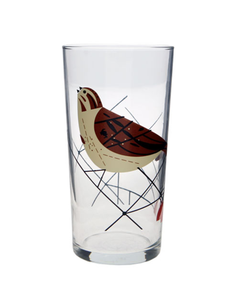 Glassware Harper Set of 4 Bird Glasses