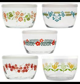 Bowls Vintage Floral Storage Bowls