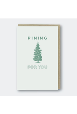 Greeting Cards - Love Pining For You Greeting Card