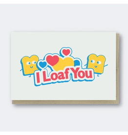Greeting Cards - Love I Loaf You Greeting Card