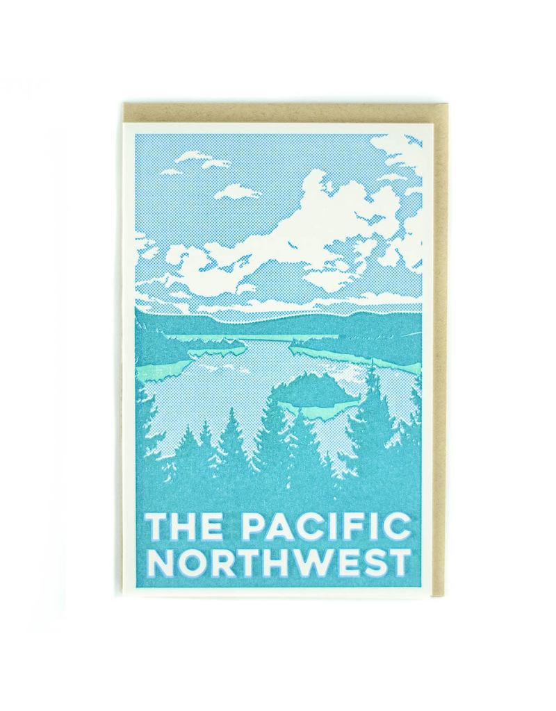 Greeting Cards - Local Pacific Northwest Greeting Card