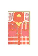 Greeting Cards - General Manly Man Greeting Card