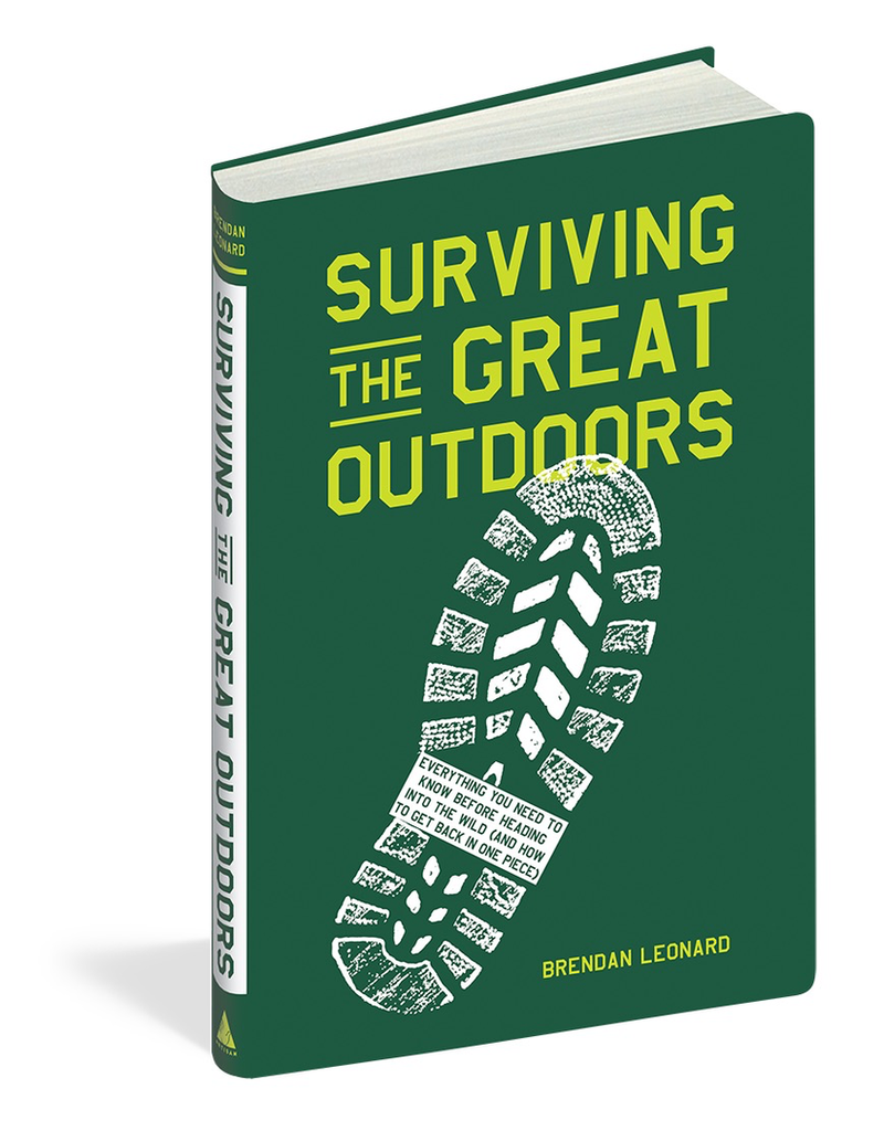 Books - Outdoors Surviving The Great Outdoors