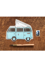 Postcards Camper Van Postcard
