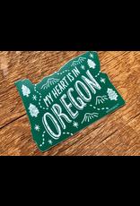 Stickers Oregon Die Cut Sticker