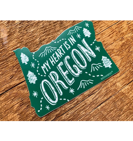 Stickers Oregon Die Cut Sticker