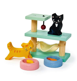 Toys Pet Cats Playset