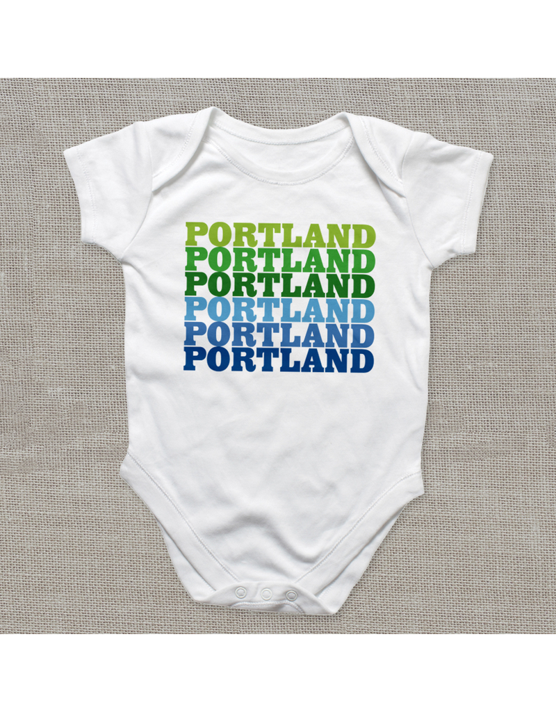 Bodysuits Portland Supergraphic Bodysuit