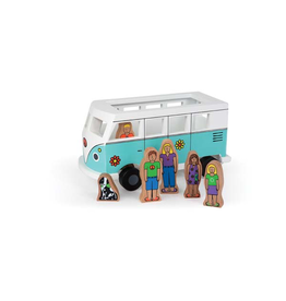 Toys Magnetic Love Bus Playset