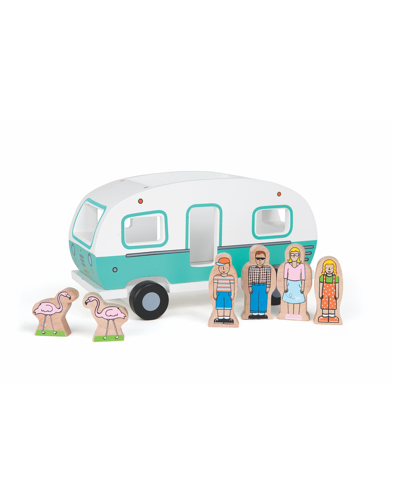 Toys Magnetic Camper Playset