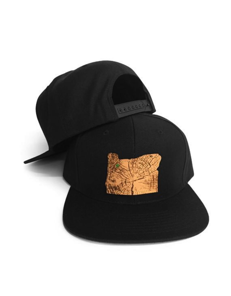 Hats Home Slice Black Cap