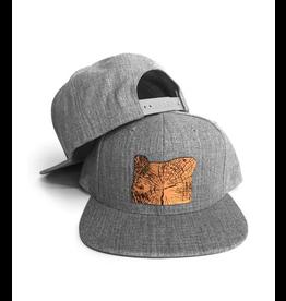 Hats Home Slice Grey Cap