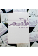Notecards Boxed Portland Letterpress Notecards