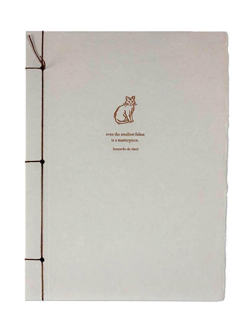 Journals DaVinci Cat Journal