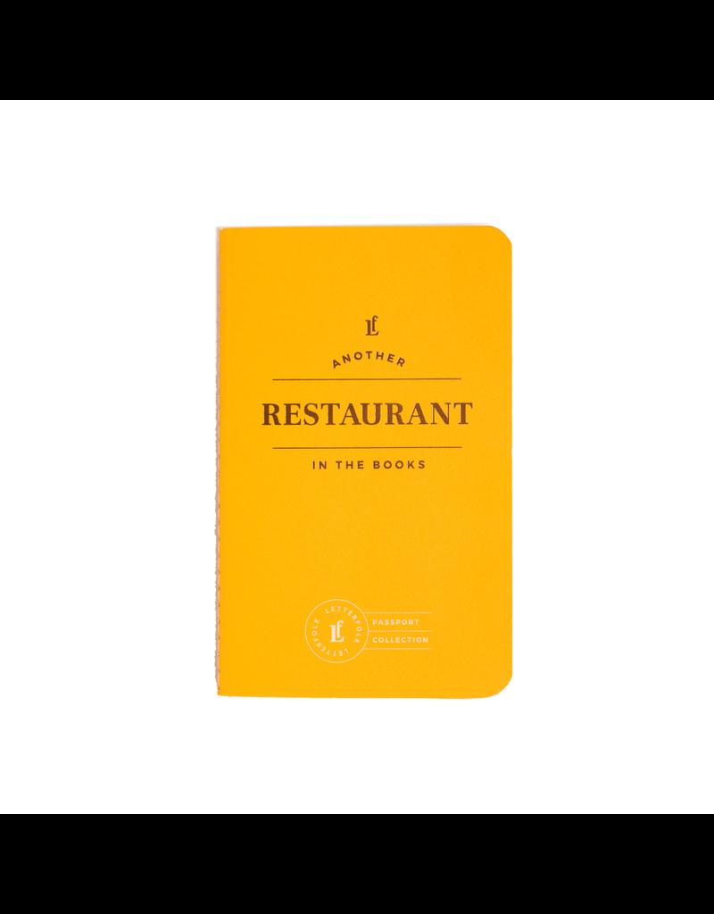 Journals Restaurant Passport