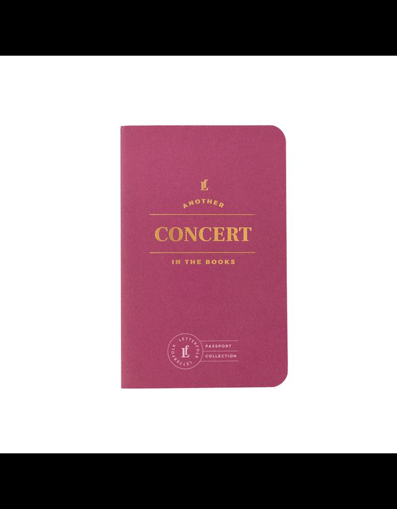 Journals Concert Passport