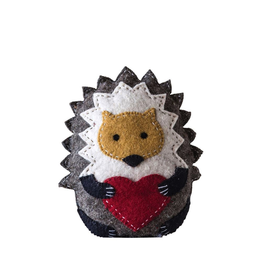 Plush Hedgehog Tooth Fairy Pillow