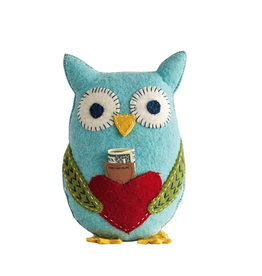 Plush Owl Tooth Fairy Pillow