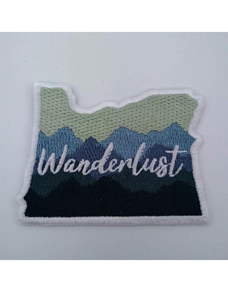 Patches Oregon Wanderlust Patch