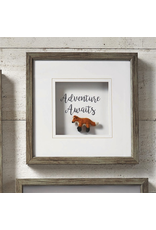 Wall Decor Fox Adventure Awaits Shadow Box Art