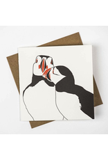 Greeting Cards - General Puffin Nuzzle Greeting Card