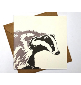 Greeting Cards - General Woodland Badger Greeting Card