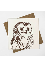 Greeting Cards - General Woodland Barn Owl Greeting Card