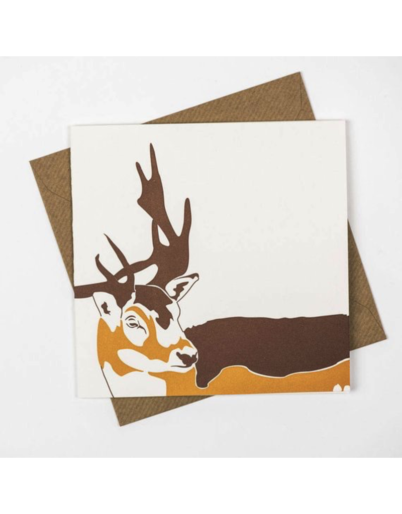 Greeting Cards - General Woodland Stag Greeting Card