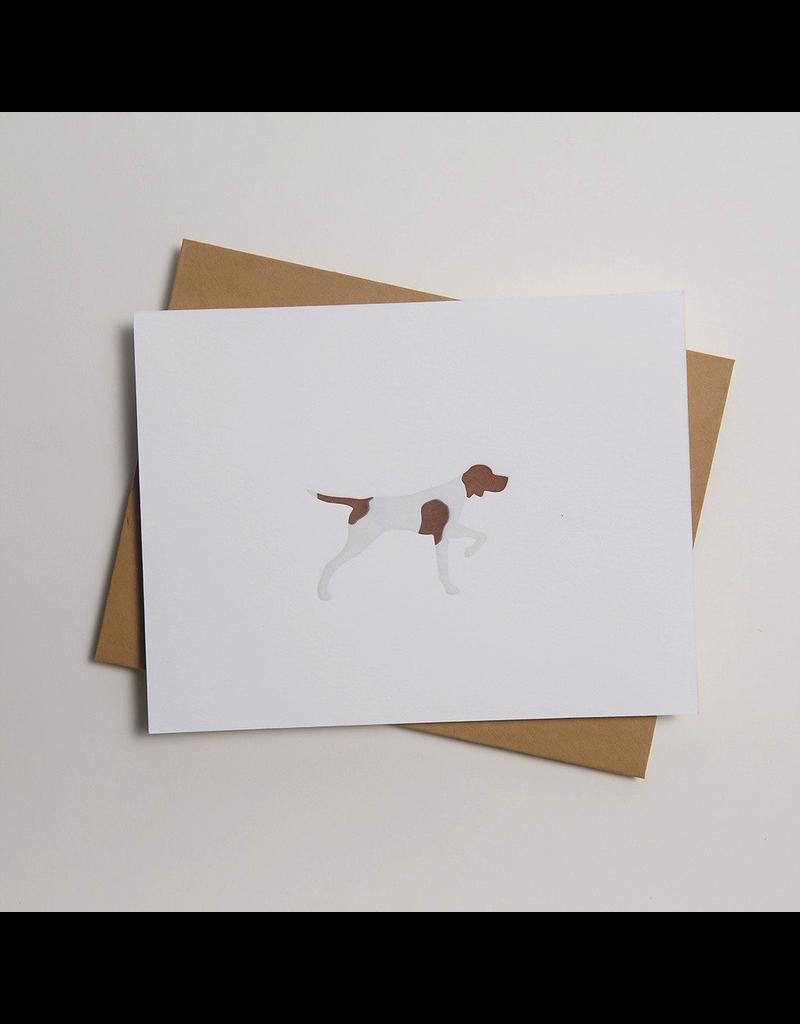 Greeting Cards - General Pointer Letterpress Notecard