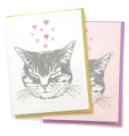 Greeting Cards - Love Cat Love Greeting Card