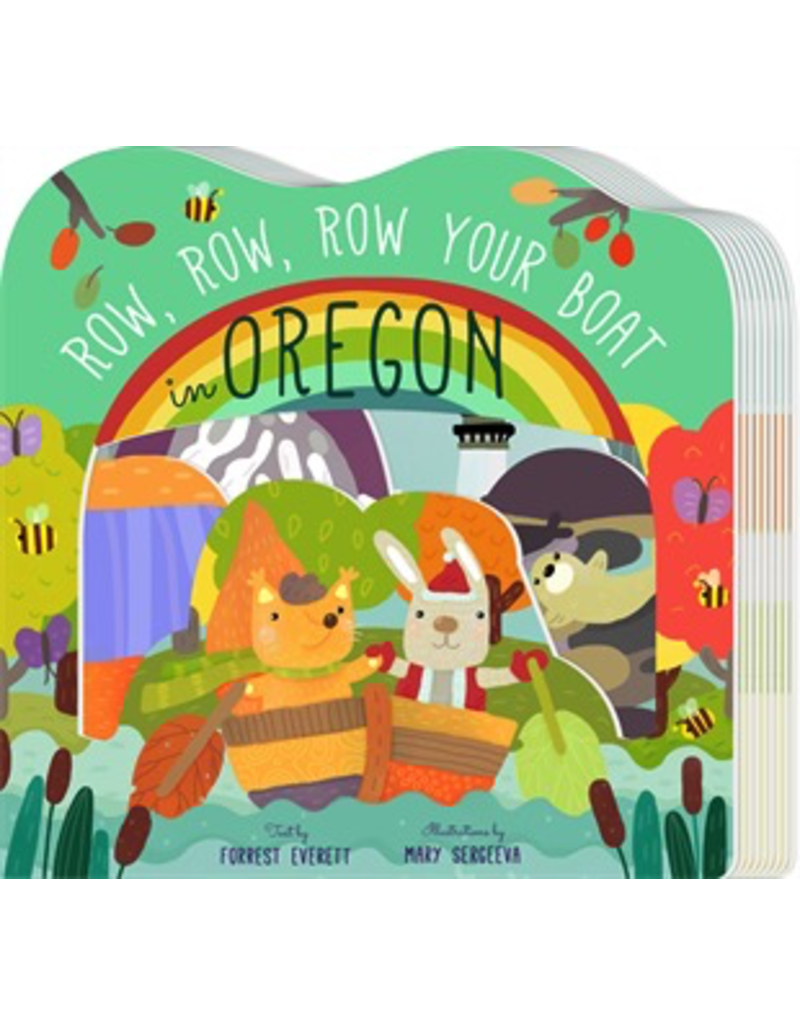 Books - Portland Oregon Row, Row, Row Your Boat In Oregon