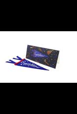 Greeting Cards - Congrats Congratulations Mini Pennant Greeting Card