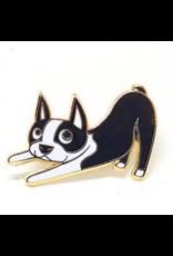 Enamel Pins Boston Terrier Enamel Pin