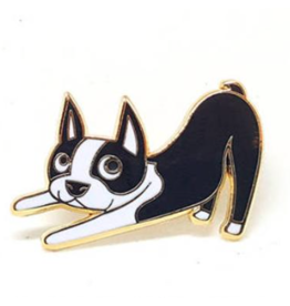 Enamel Pins Boston Terrier Enamel Pin