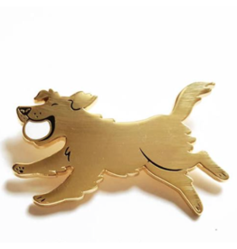 Enamel Pins Golden Retriever Enamel Pin