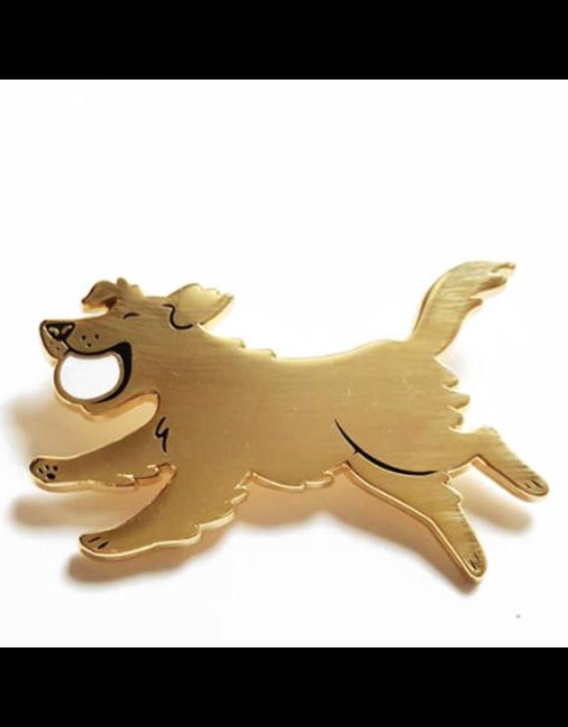 Enamel Pins Golden Retriever Enamel Pin
