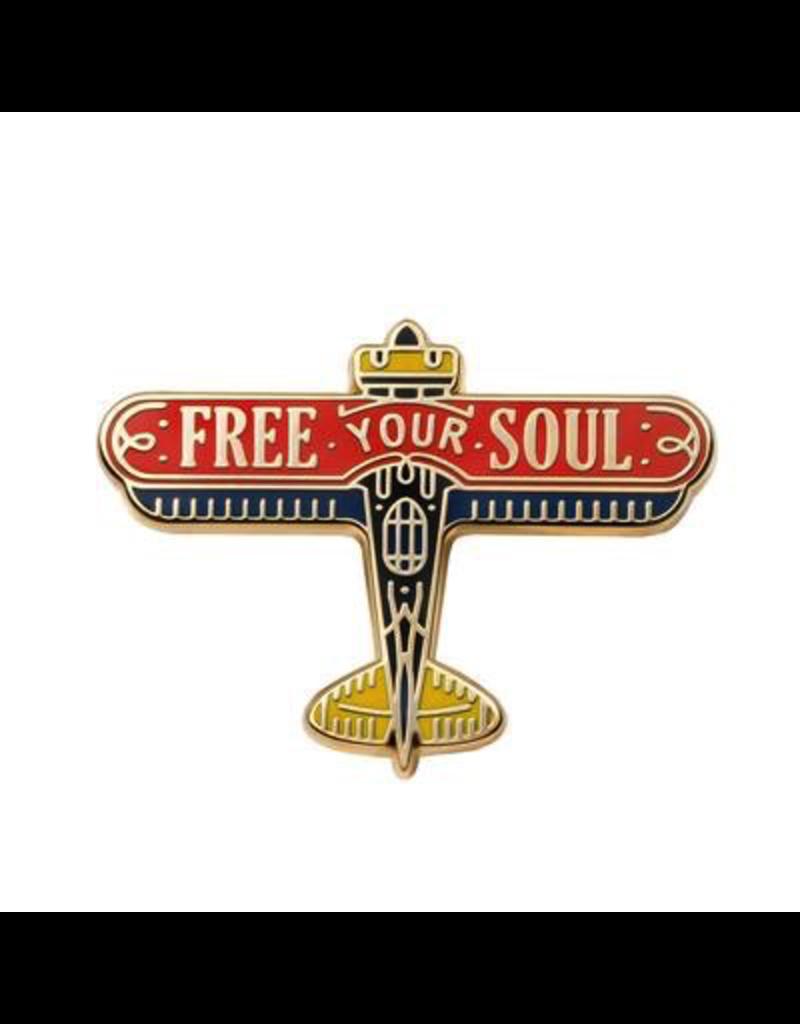 Enamel Pins Free Your Soul Enamel Pin