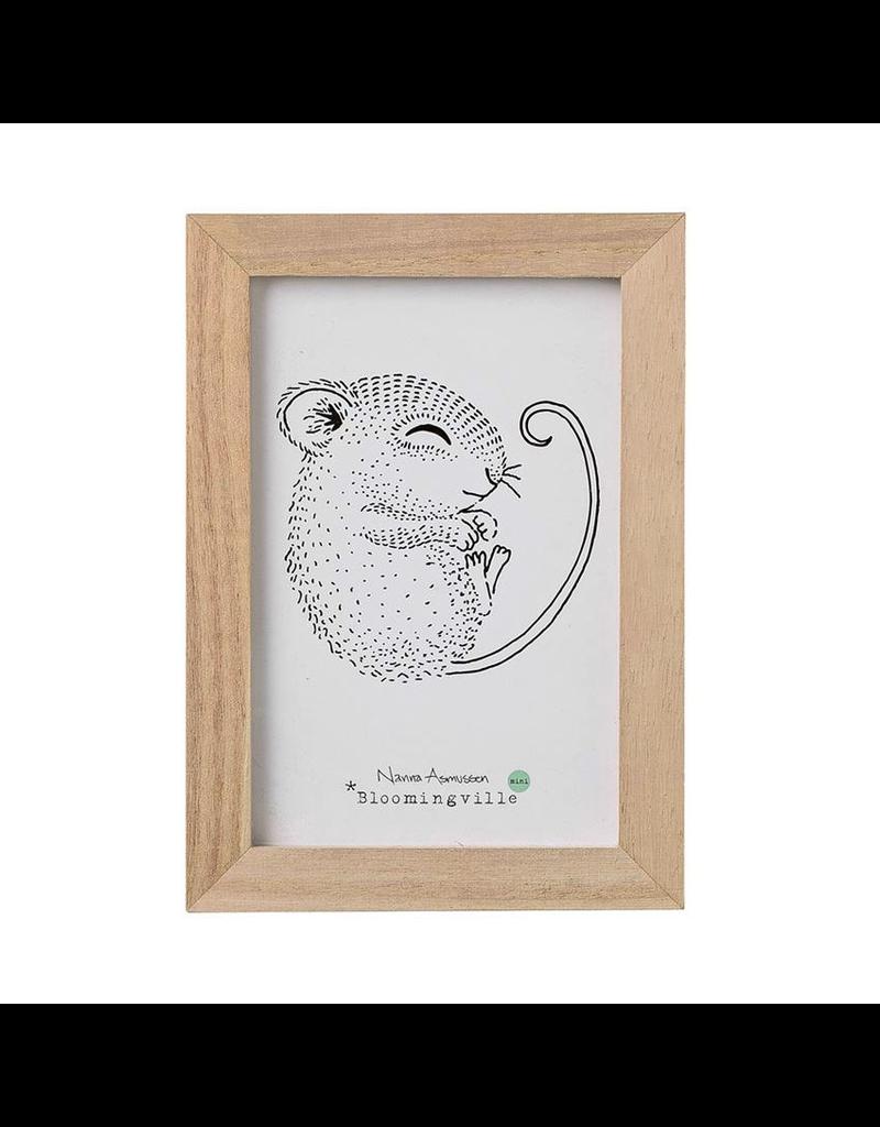 Prints Sleeping Mouse Print