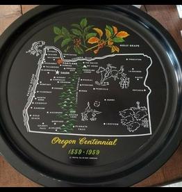 Trays Vintage Oregon Centennial Tray