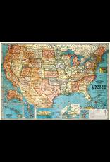 Gift Wrap USA Map Wrap