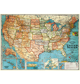 Gift Wrap USA Map Wrap
